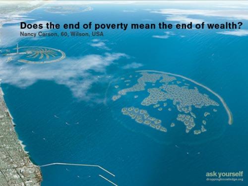 Droppingknowledgeendofpoverty