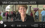 Canada Blooms and Landscape Ontario Events Calendar '13 - '14